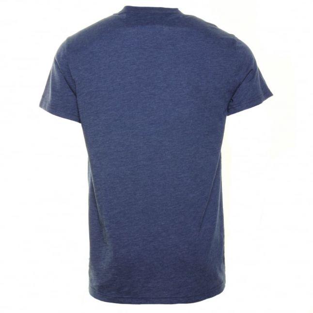 Mens Swedish Blue Ruizon Crew S/s Tee Shirt