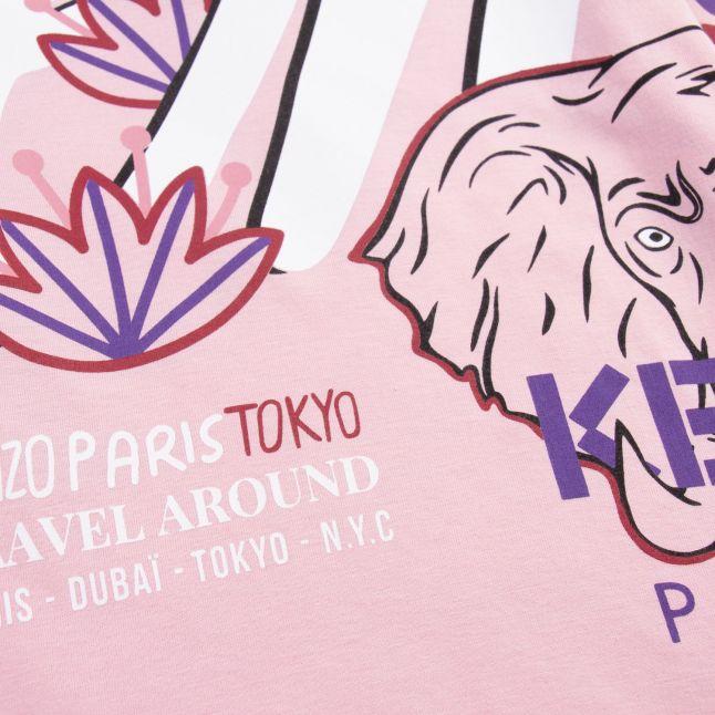 Girls Pink Karissa Tokyo L/s T Shirt