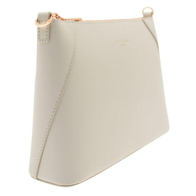 Womens Light Grey Chania Cross Body Bag