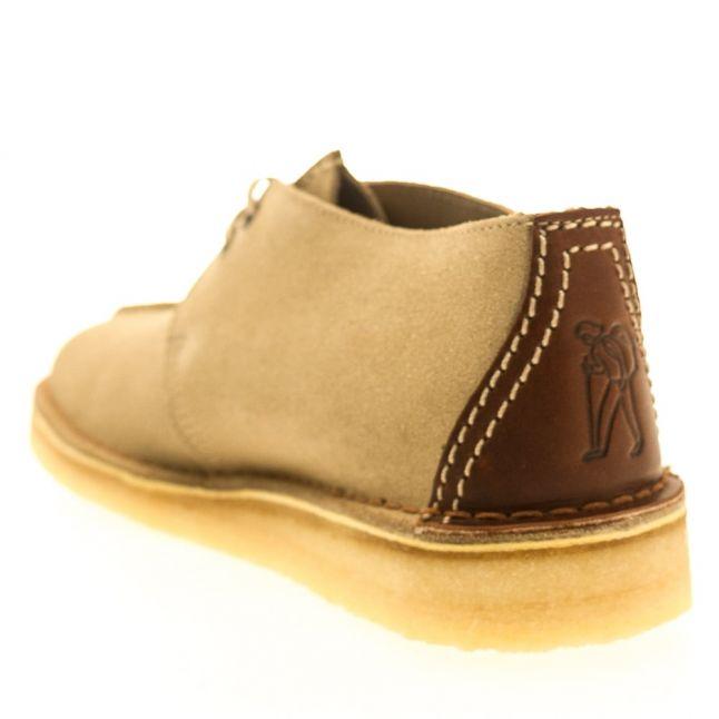 Mens Sand Suede Desert Trek Shoes