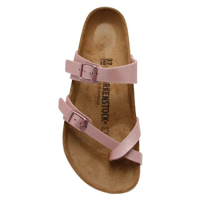 Womens Icy Metallic Rose Mayari Birko-Flor Sandals