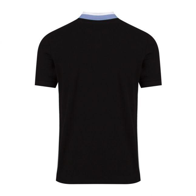 Mens Black/Blue Ampere S/s Polo Shirt