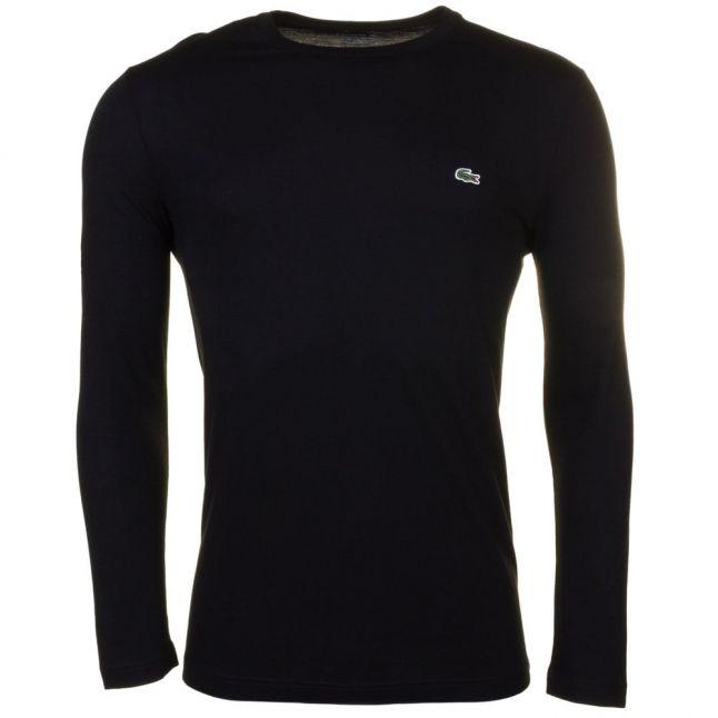 Mens Black Classic L/s Tee Shirt