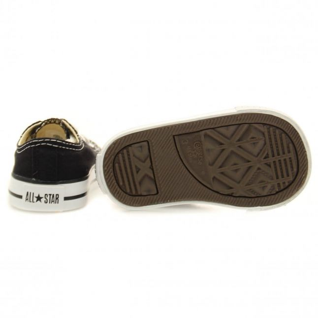 Infant Black Chuck Taylor All Star Ox (2-9)