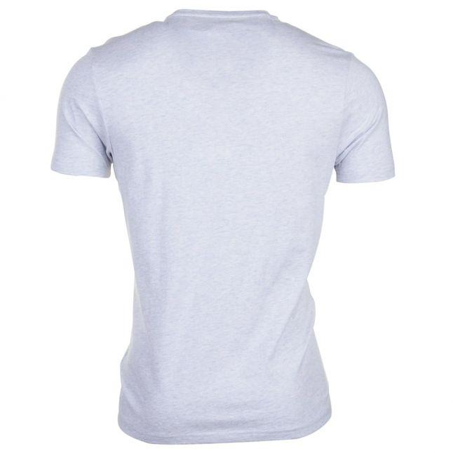 Mens Pale Blue Marl Denny Slim Fit S/s Tee Shirt
