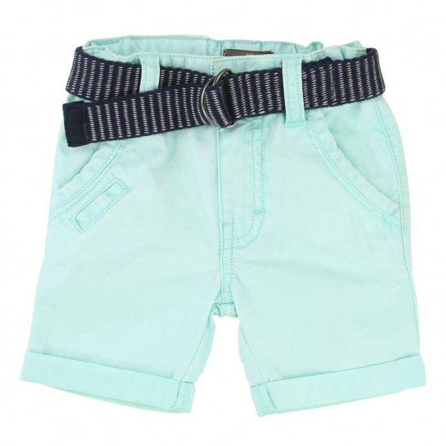 Baby Blue Shorts & Belt