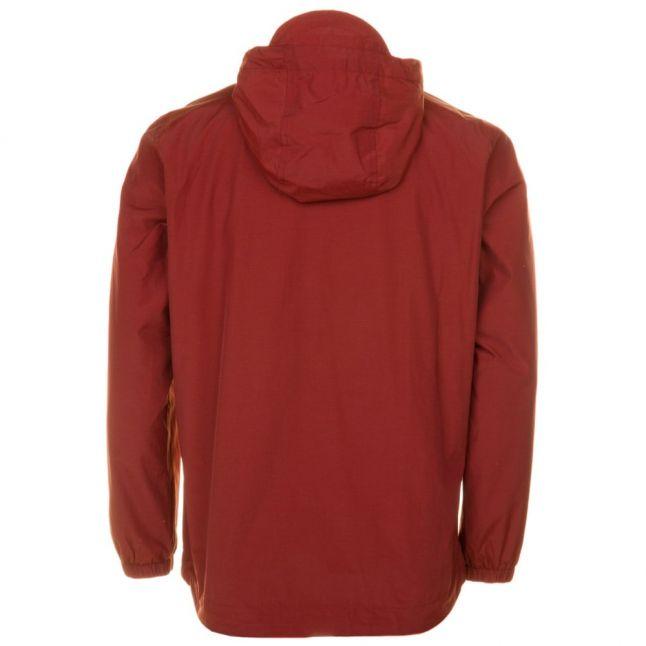 Mens Burnt Redwood Zip Through Hooded Jacket