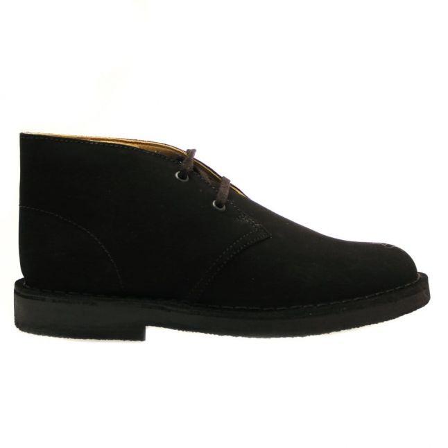 Junior Black Suede Desert Boot (13-2)