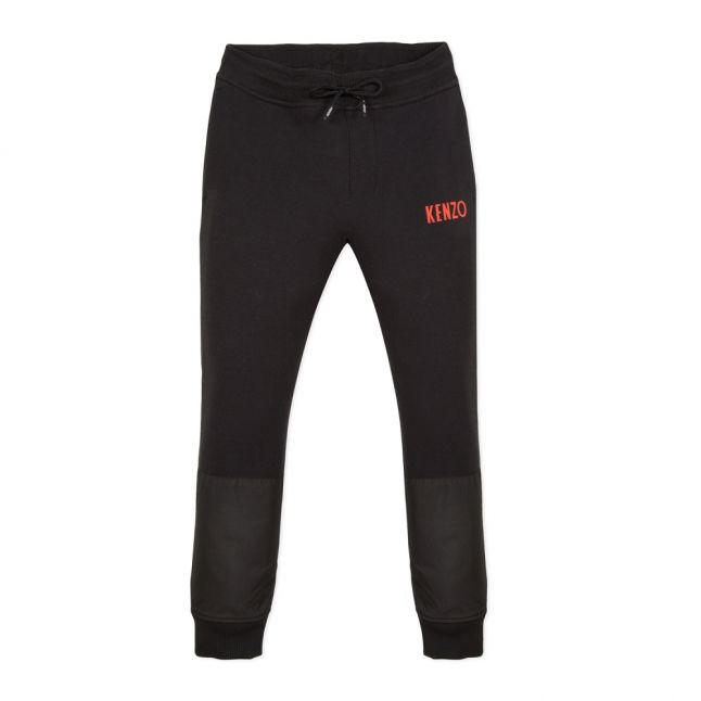 Junior Black Galion Logo Sweat Pants