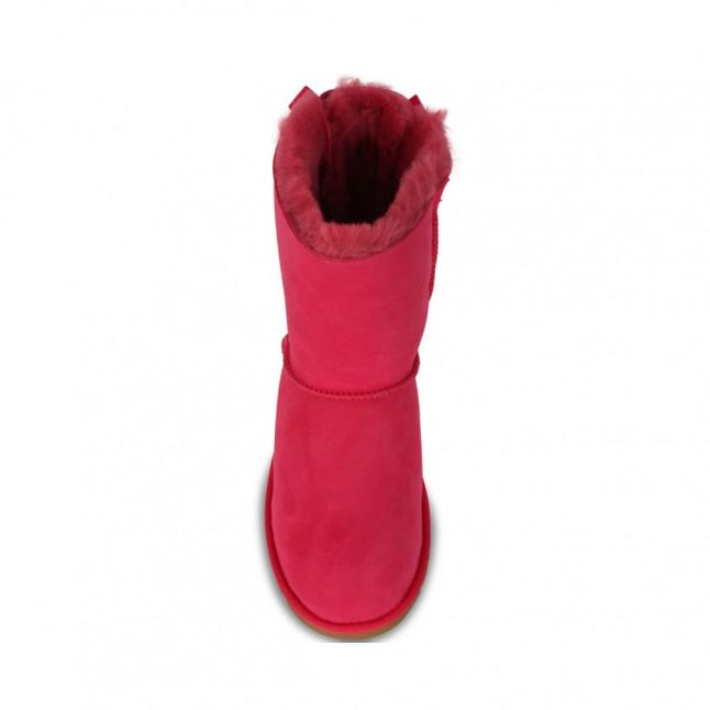 Kids Cerise Bailey Bow Boots (12-3)
