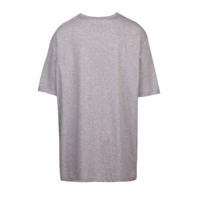 Athleisure Big & Tall Mens Light Grey B-Tee Curved S/s T Shirt