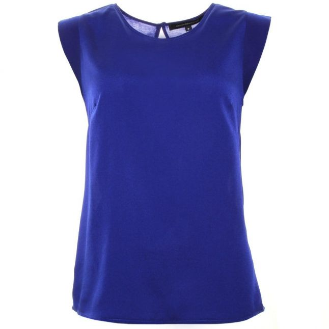 Womens Prince Rocks Polly Plains Capped Sleeve Top