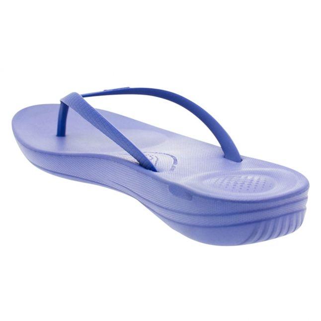 Fit Flop Womens Royal Blue Iqushion Flip Flops