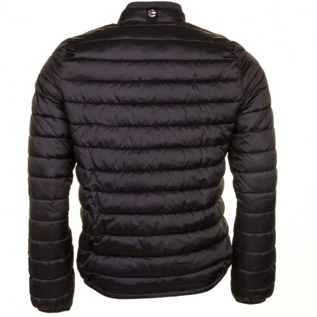 Steve McQueen™ Collection Mens Black Baffle Quilted Jacket