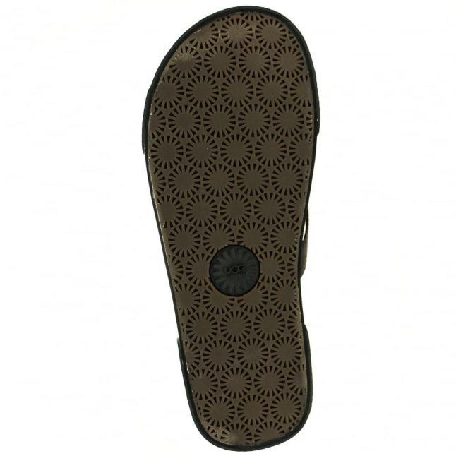 Mens Asphalt Bennison II Hawaiian Cork Flip Flops