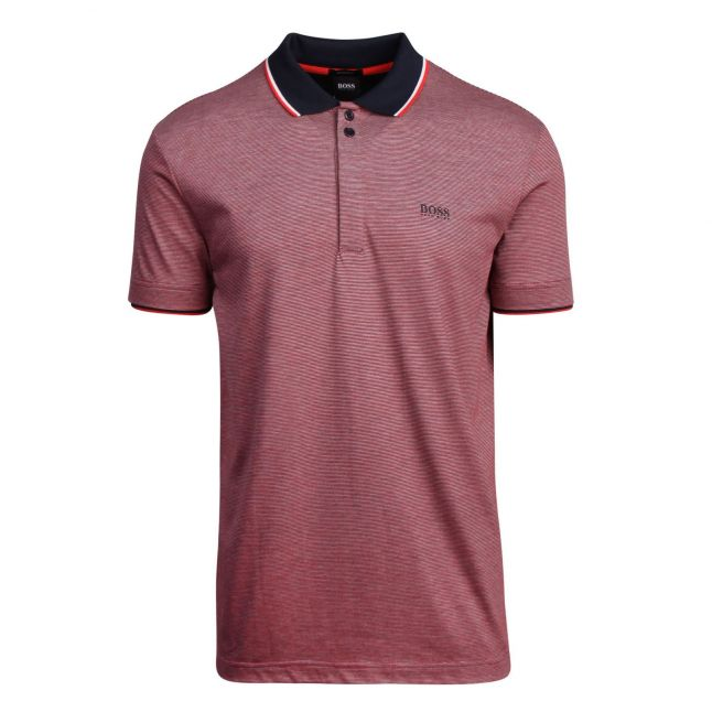 Athleisure Mens Navy Paddy 2 Regular Fit S/s Polo Shirt