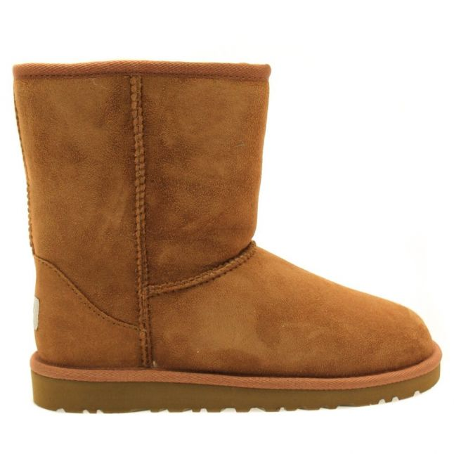 Youth Chestnut Classic Short Boots (4-5)