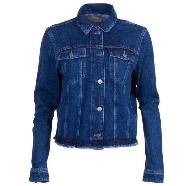 Womens Blue Rocket Denim Jacket