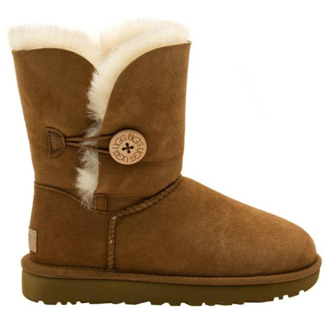 Womens Chestnut Bailey Button Boots