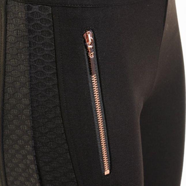 Womens Black Dorean Leggings