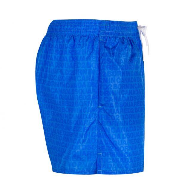 Dsquared2 Mens Blue Tonal All Over Print Swim