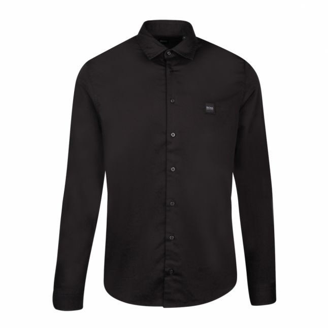 Casual Mens Black Mypop_2 L/s Shirt