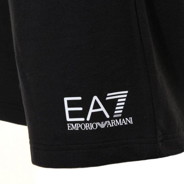 Mens Navy Training Core Identity Logo Sweat Shorts