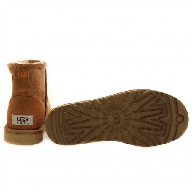 Womens Chestnut Classic Mini Boots
