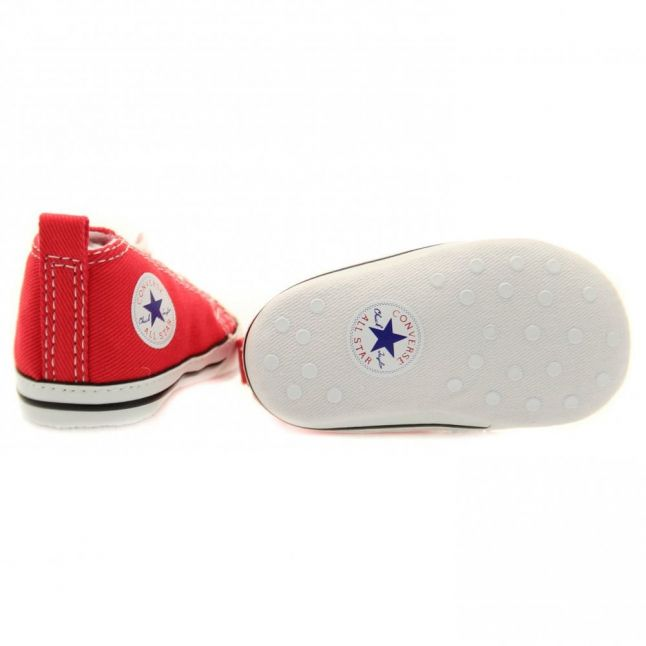 Baby Red Chuck Taylor First Star (1-3)