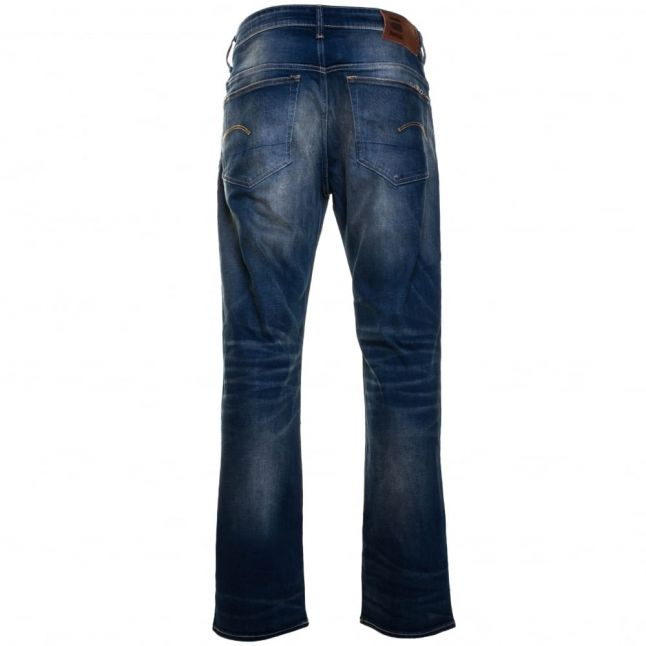 Mens Medium Aged Wash 3301 Loose Fit Jeans