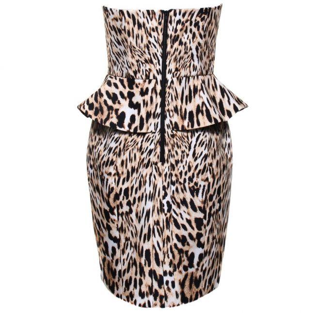 Womens Leopard Print Take A Shot Dress