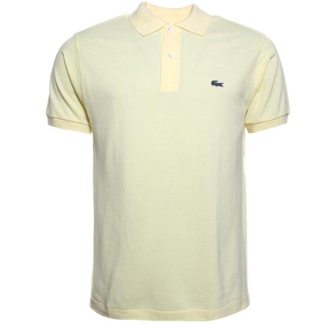 Mens Yellow Classic L.12.12 S/s Polo Shirt