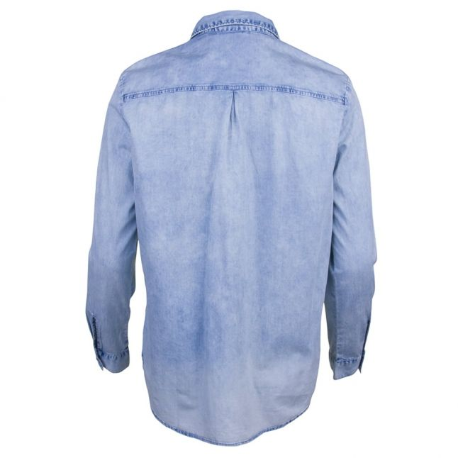 Womens Blue L/s Shirt