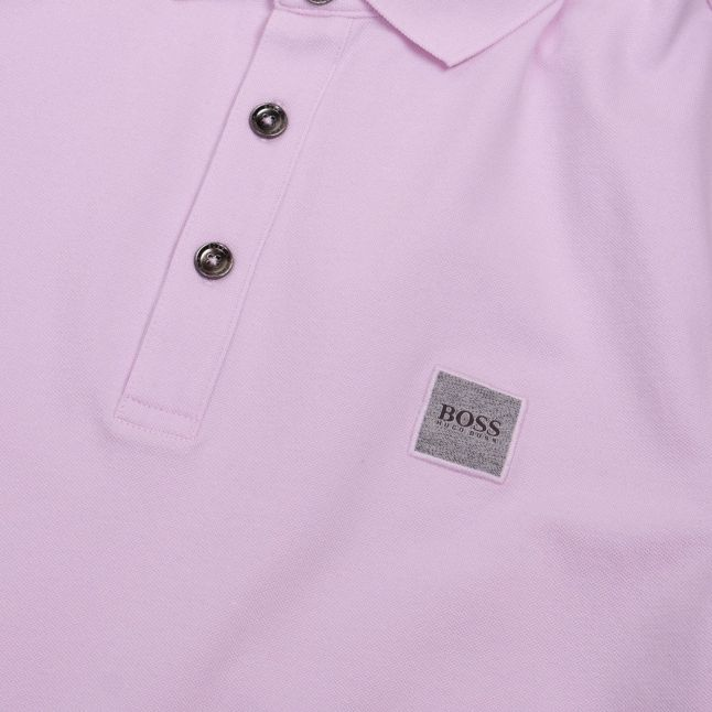 Casual Mens Pink Passenger Slim Fit S/s Polo Shirt