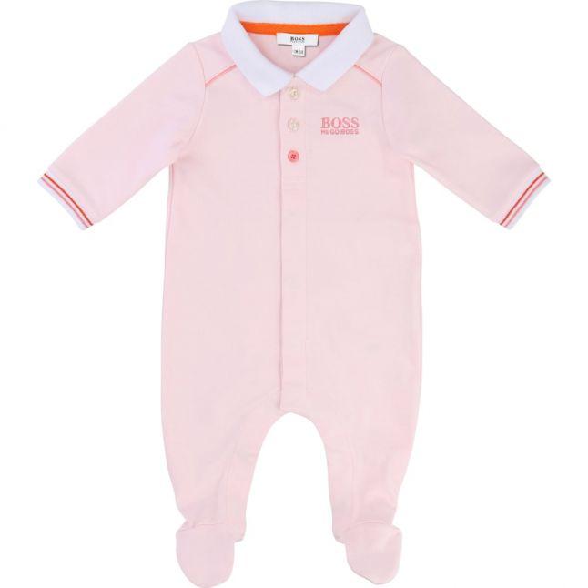 Baby Pink L/s Romper