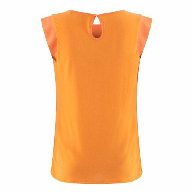 Womens Tangerine Dream Abena Light Cap Sleeve Top