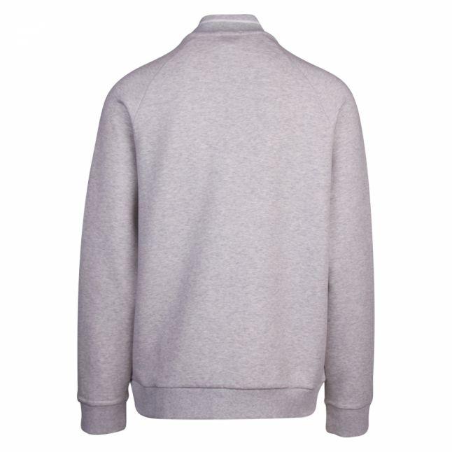 Athleisure Mens Light Grey Sicon Zip Thru Sweat Jacket
