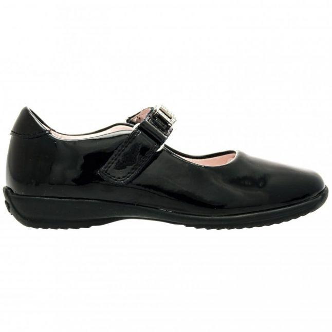 Girls Black Patent Nicole F-Fit Shoes (25-35)