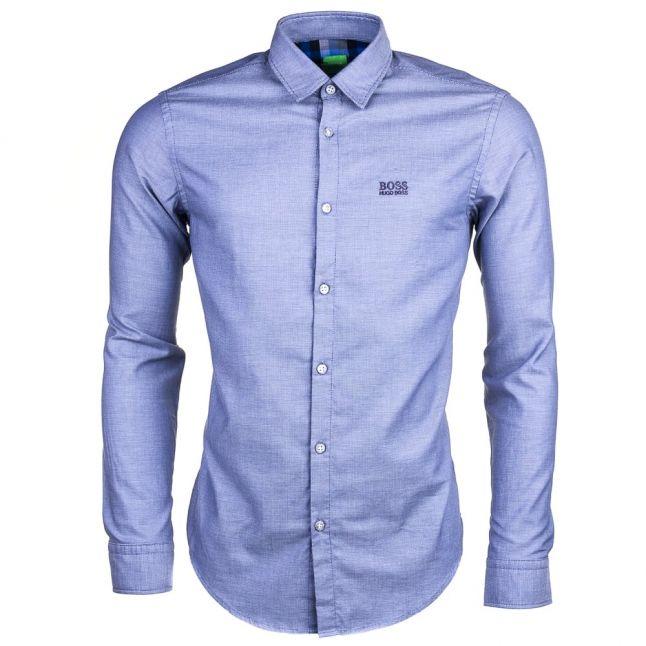 Mens Blue C- Buster L/s Shirt