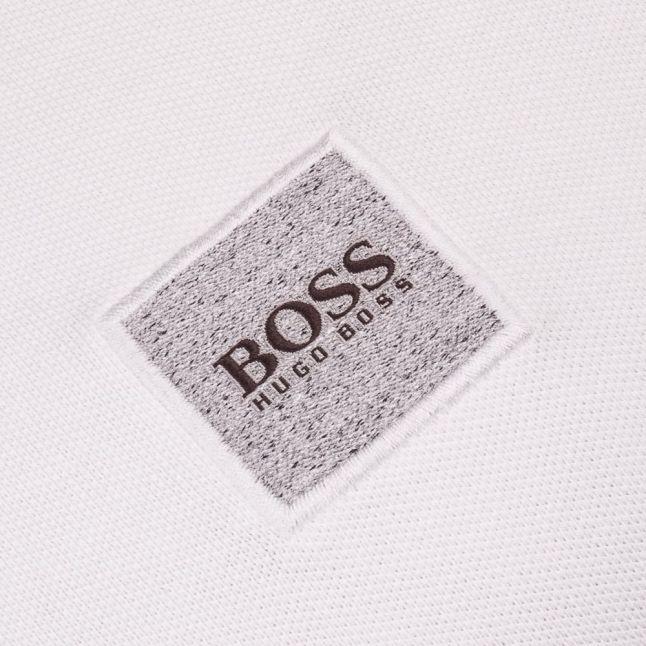 Orange Mens White Pavlik S/s Polo Shirt