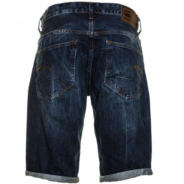 Mens Vinatge Dk Aged 3301 Tapered Denim Shorts