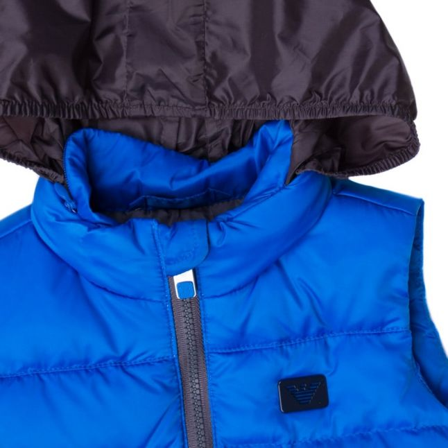 Baby Blue Down Filled Gilet