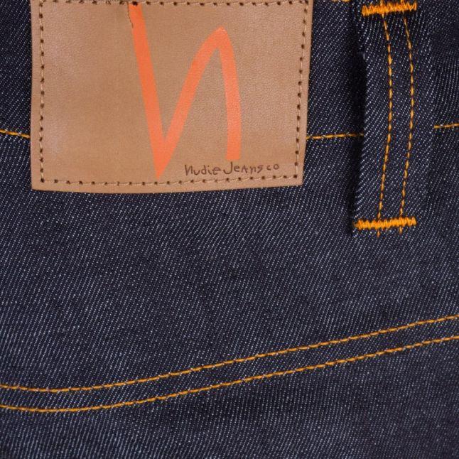 Mens Dry Twill Wash Thin Finn Slim Fit Jeans