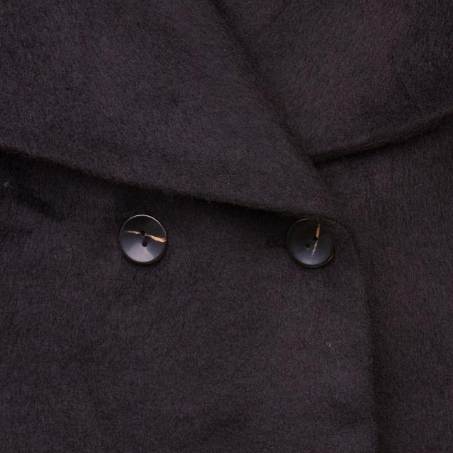 Womens Jet Black Craft Coat