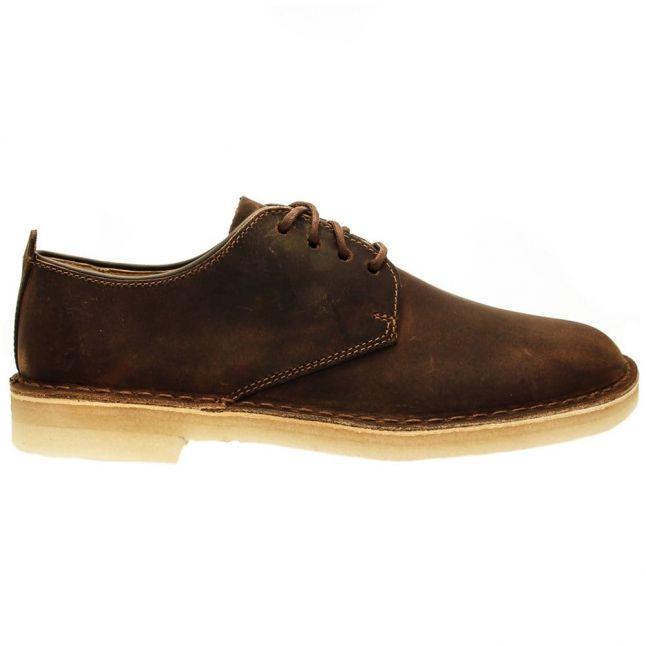 Mens Beeswax Leather Desert London
