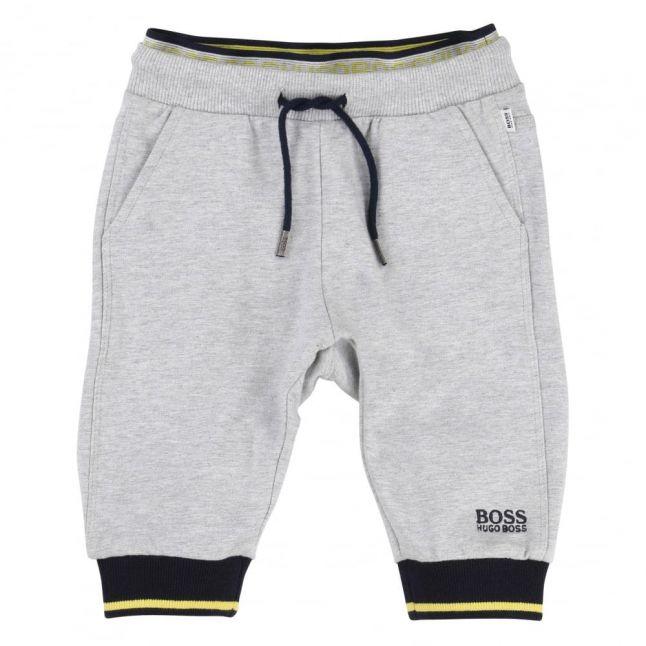 Baby Grey Branded Jog Pants
