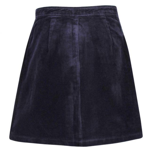 Womens Navy Blazer Viemmi Cord Short Skirt
