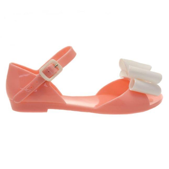 Girls Pink Frappe Bow Sandals (29-32)