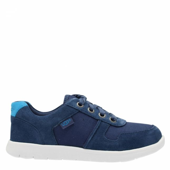 Kids Ensign Blue Tygo Trainers (12-5)