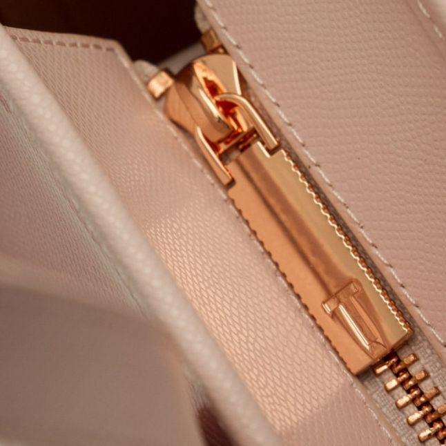 Womens Nude Pink Joanah Porcelain Rose Small Shopper Bag & Purse